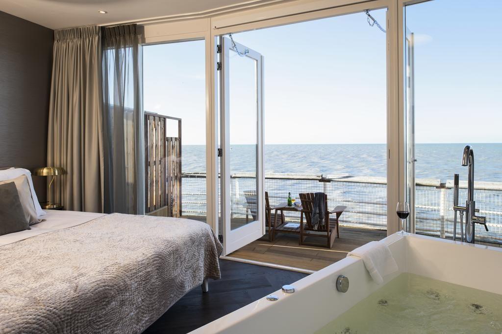 De Pier Suites – uitzicht vanuit luxe suite