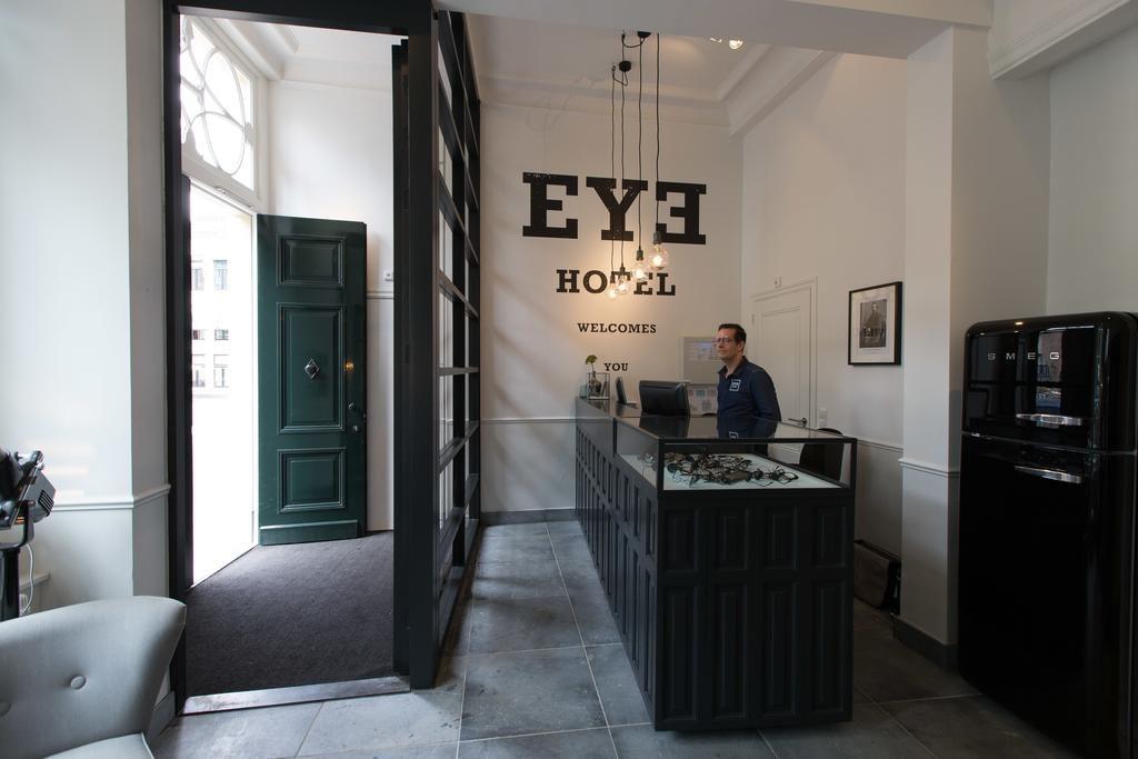 Eye Hotel – Receptie