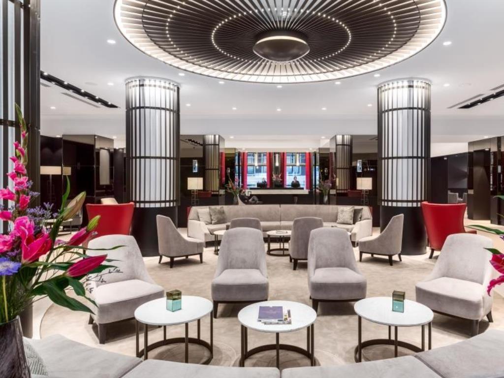 Grand Hotel Krasnapolsky Amsterdam – Entree