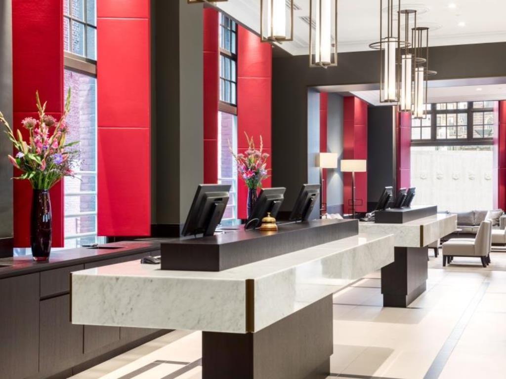 Grand Hotel Krasnapolsky Amsterdam – Lobby