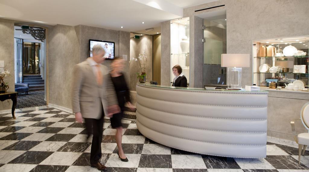 Hotel Le Place d'Armes – Lobby