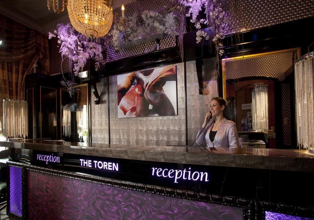 Hotel The Toren – Receptie