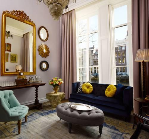 Luxe suites Pulitzer Amsterdam – Antiek suite – lounge