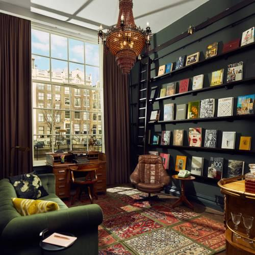 Luxe suites Pulitzer Amsterdam – Boek suite – lounge