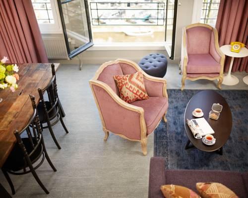 Luxe suites Pulitzer Amsterdam – Familie suite – lounge
