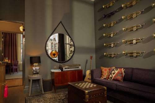 Luxe suites Pulitzer Amsterdam – Muziek suite – lounge