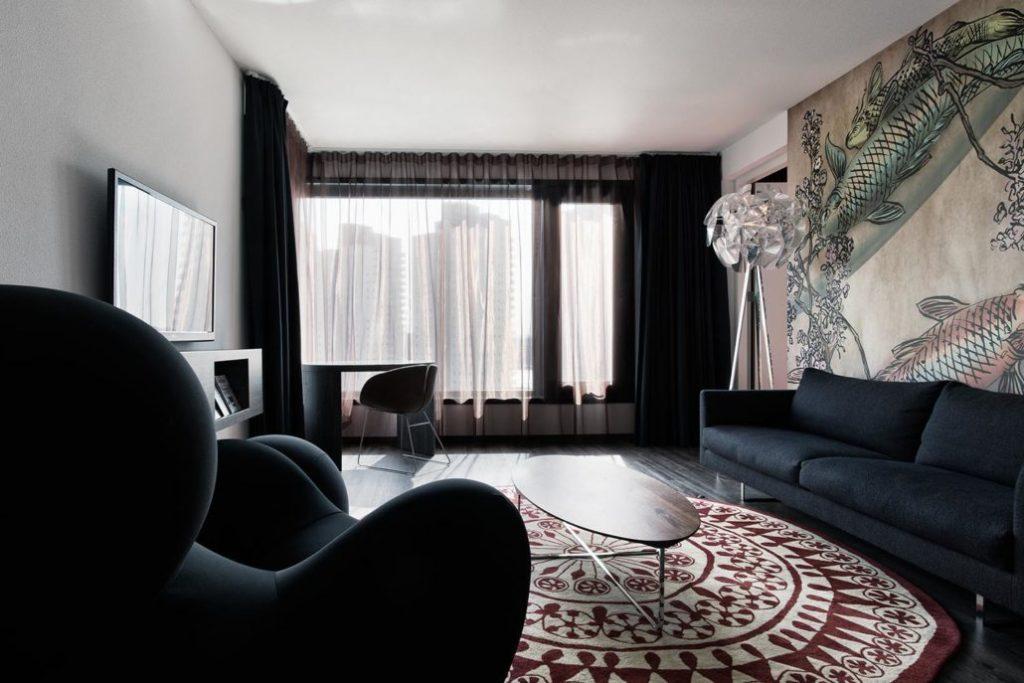 Mainport Design Hotel – zitgedeelte