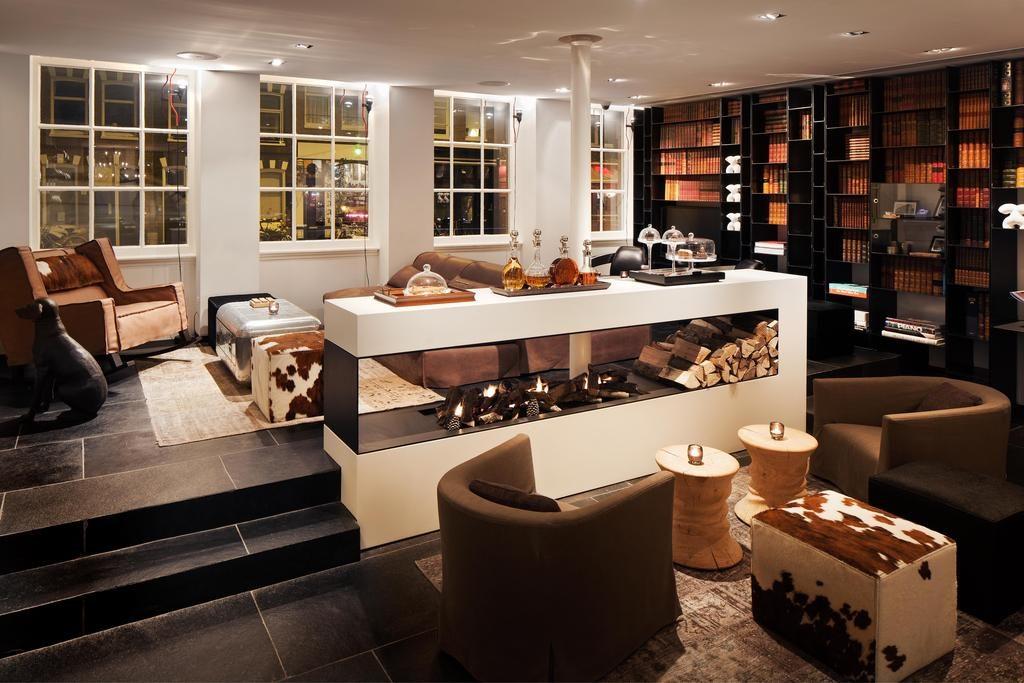 Sir Albert Hotel – Bibliotheek