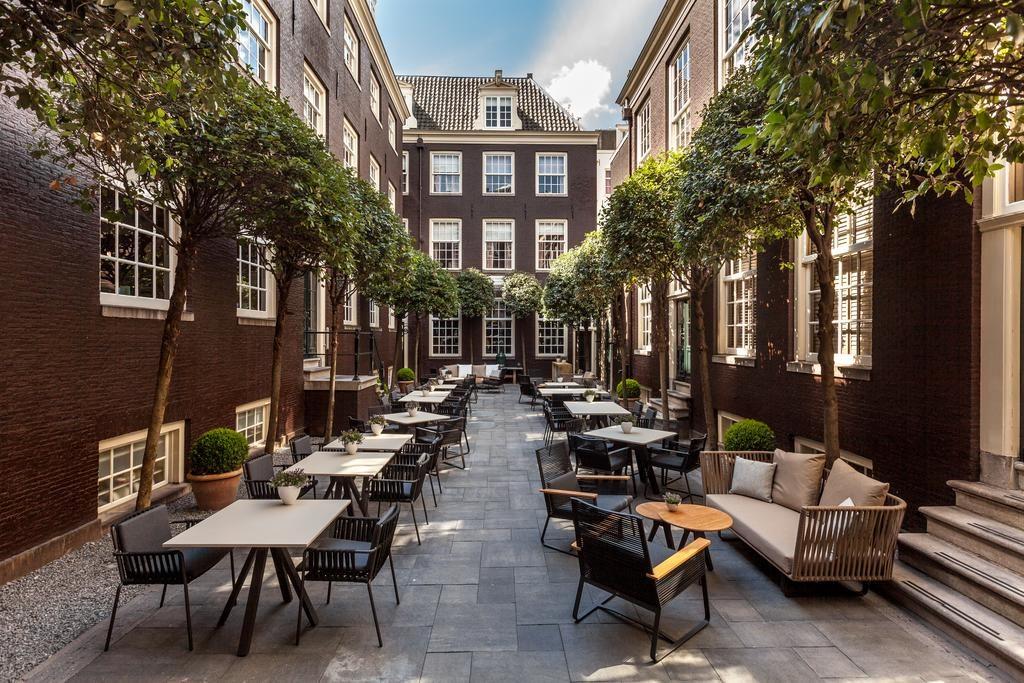 The Dylan Amsterdam – Binnenplaats
