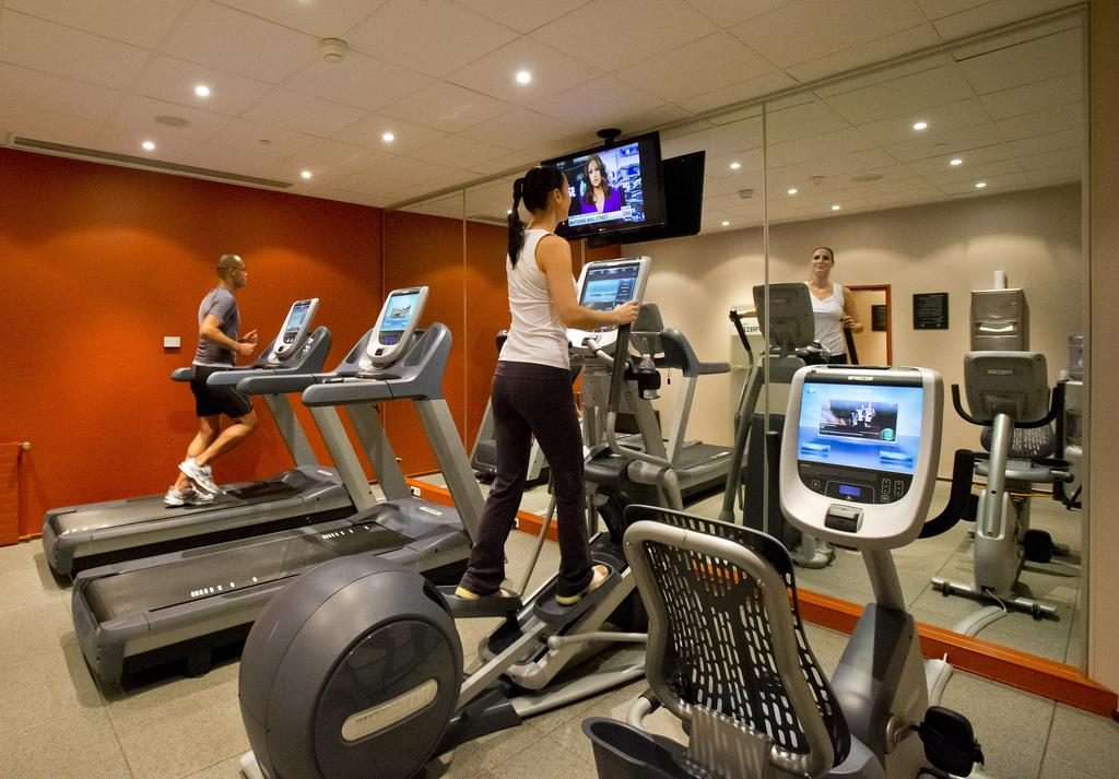 DoubleTree by Hilton Luxembourg – Fitnesscentrum