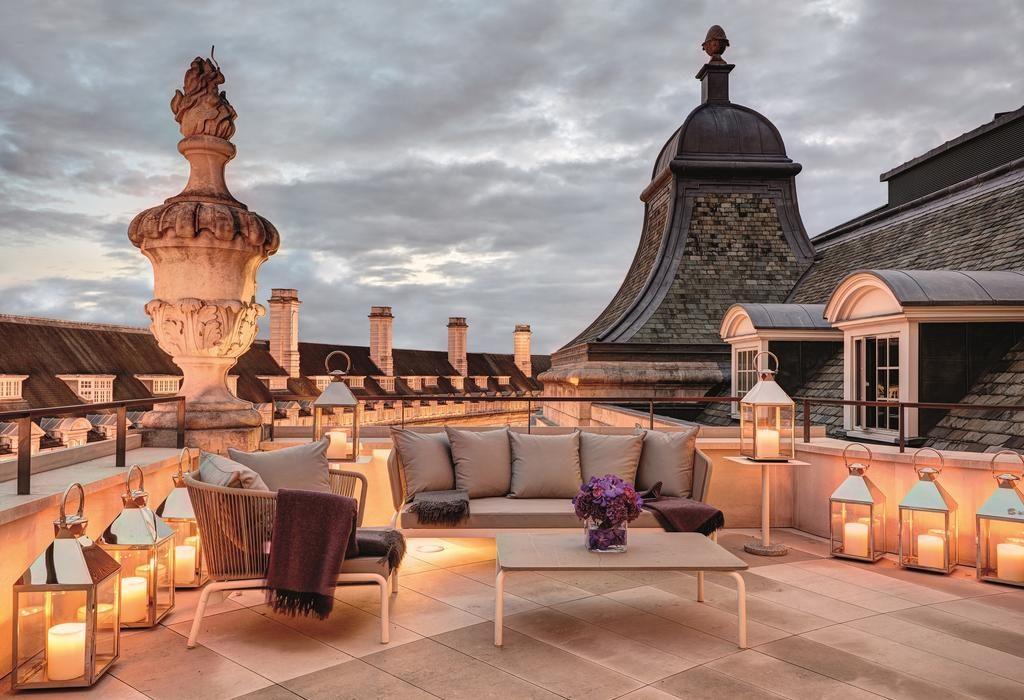 Hotel Café Royal – Balkon/Terras