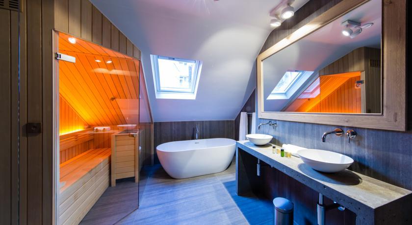 Secret Suites Brussels Royal – Badkamer