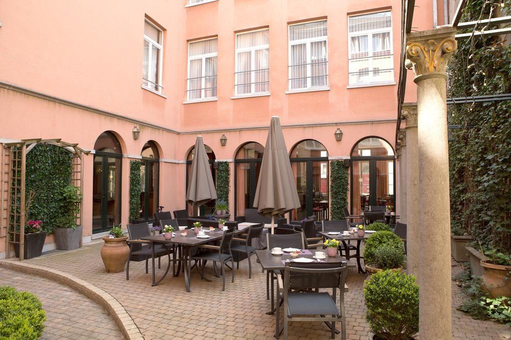 Hotel Rubens Grote Markt – terras