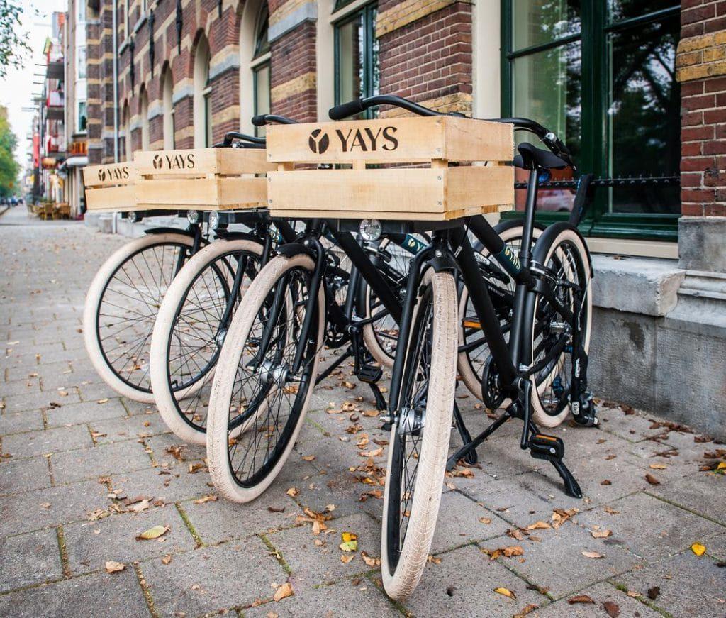 Yays Zoutkeetsgracht Concierged Boutique Apartments – Fietsverhuur