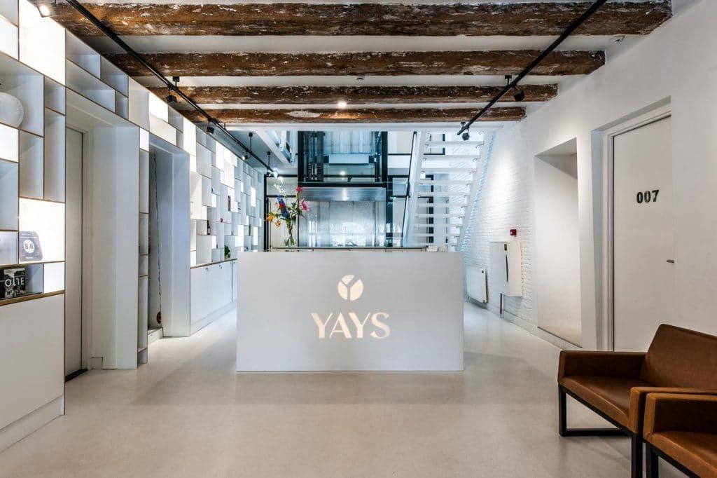 Yays Zoutkeetsgracht Concierged Boutique Apartments – Receptie