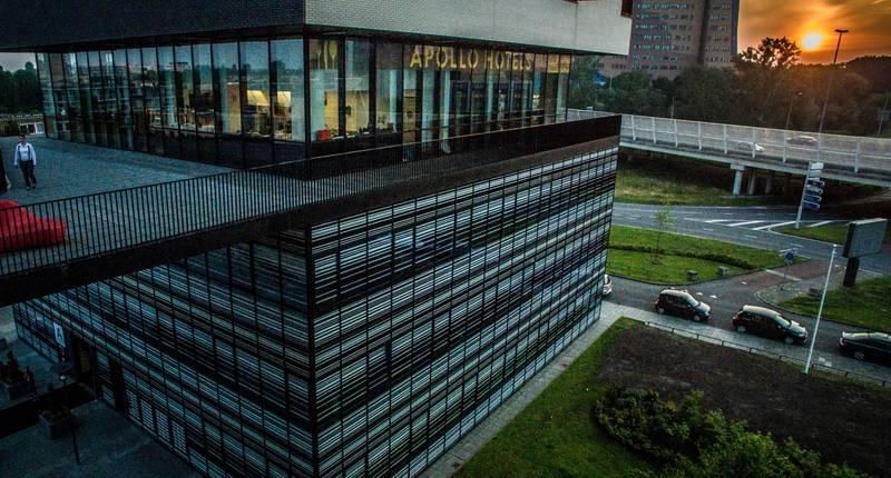 Apollo Hotel Groningen – buitenkant hotel