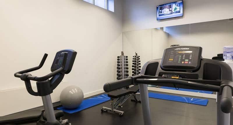 B-aparthotel Kennedy – fitnesscentrum