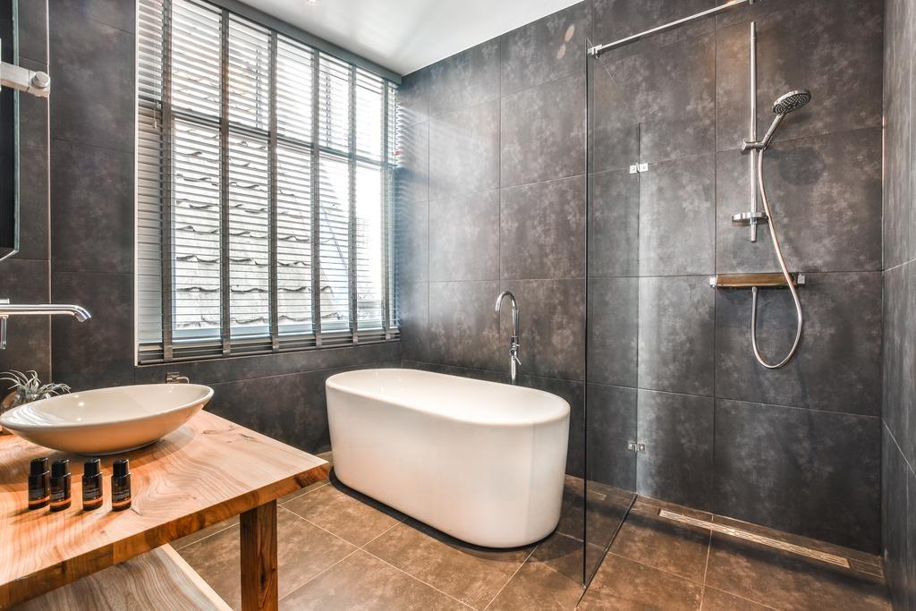 Boutiquehotel De Koninginn – badkamer