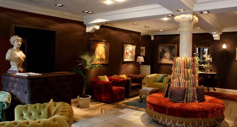 Hotel Die Swaene – receptie