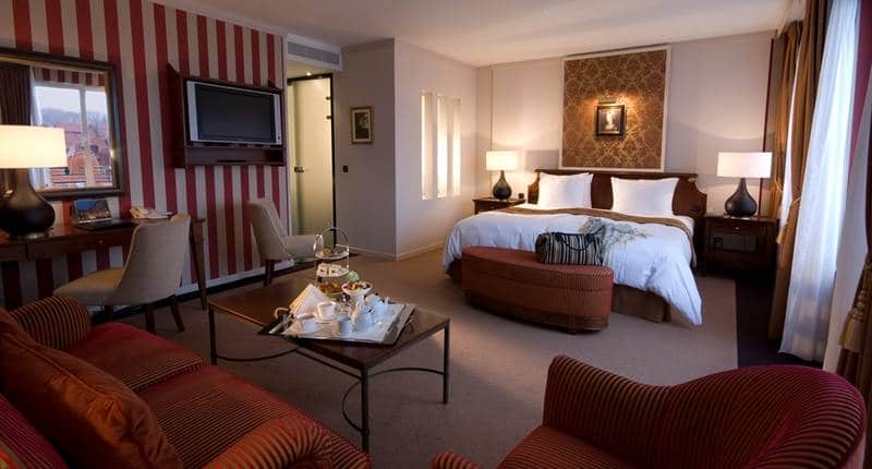 Hotel Dukes' Palace Bruges – Deluxe Suite