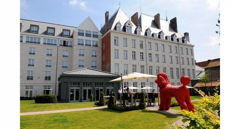 Hotel Dukes' Palace Bruges – buitenkant hotel