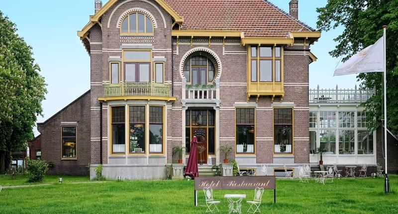 Hotel Resort Landgoed Westerlee – buitenkant hotel