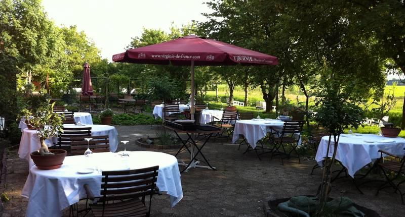 Hotel Resort Landgoed Westerlee – terras
