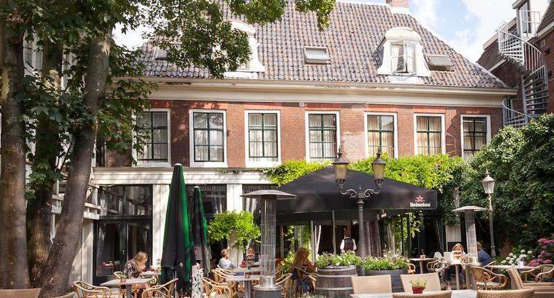 Hotel Schimmelpenninck Huys – buitenkant hotel