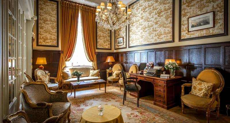 Relais & Châteaux Hotel Heritage – lounge