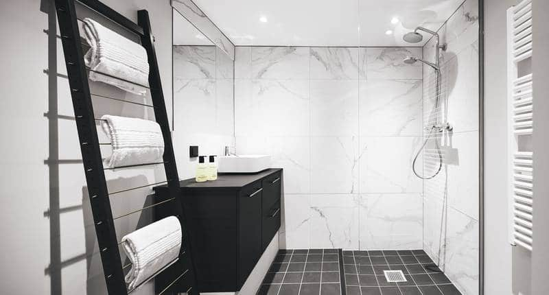 The Anthony Hotel – suite badkamer