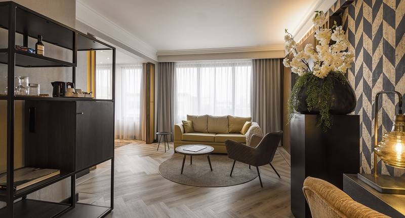 The Plaza Hotel Antwerp – Junior Suite