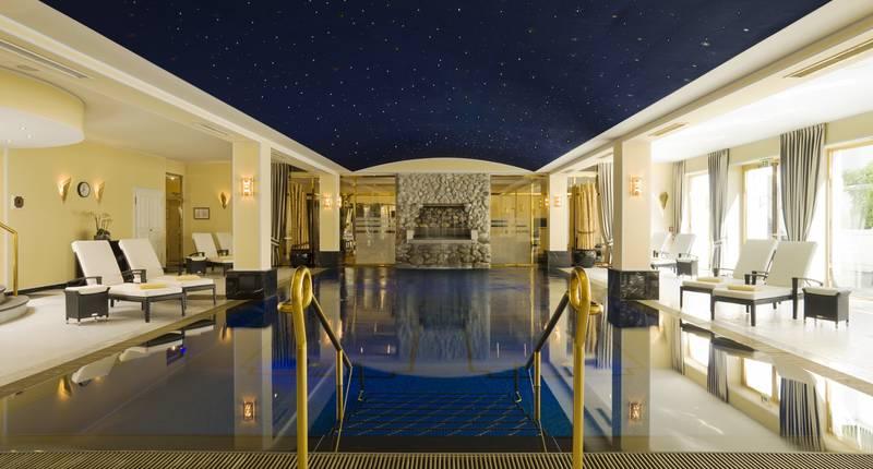 Althoff Grandhotel Schloss Bensberg – binnenzwembad