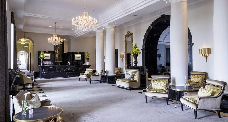 Althoff Grandhotel Schloss Bensberg – receptie