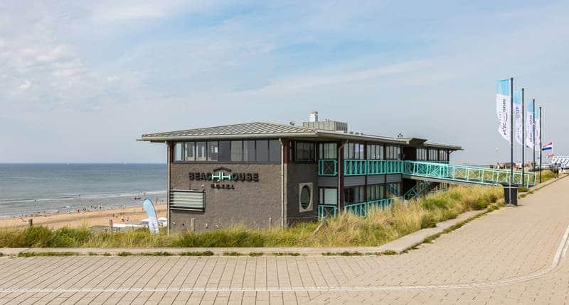 Beachhouse Hotel – buitenkant hotel