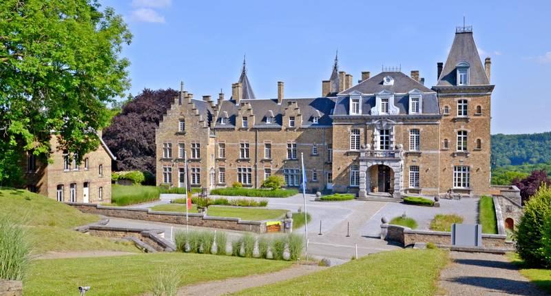 Chateau de la Poste – buitenkant hotel