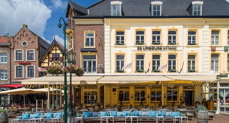 Hotel De Limbourg – buitenkant hotel