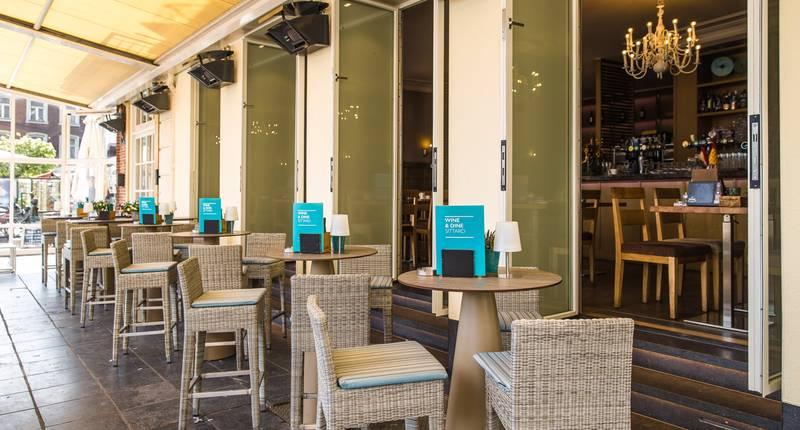 Hotel De Limbourg – terras