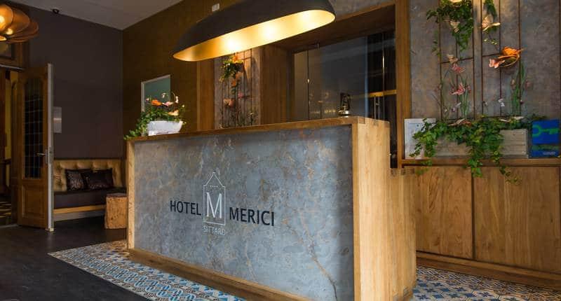 Hotel Merici – receptie