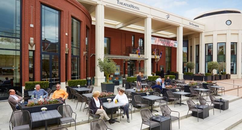 Van der Valk TheaterHotel De Oranjerie – terras