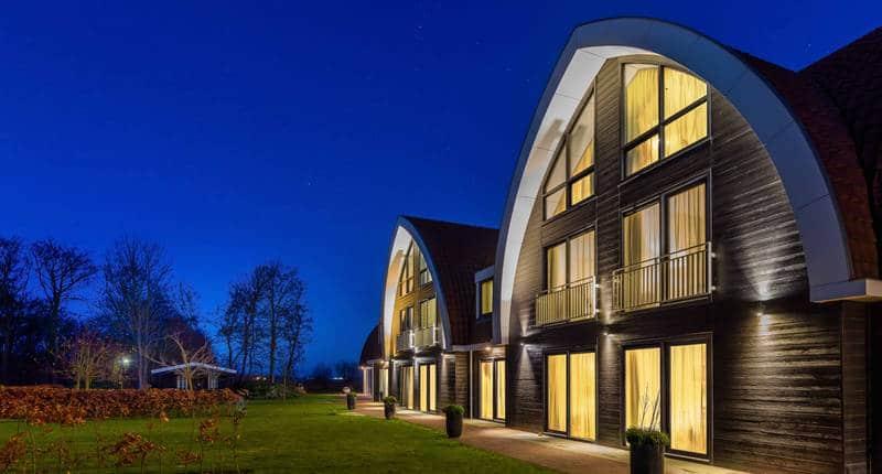Boutique Hotel Texel – buitenkant hotel