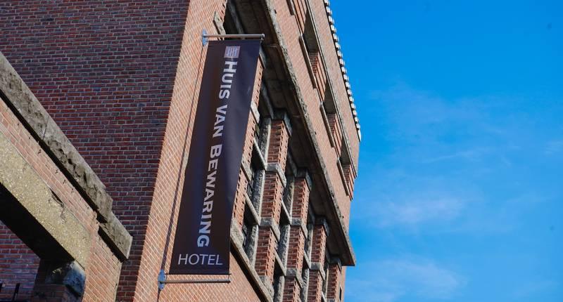 Hotel Huis van Bewaring – buitenkant hotel