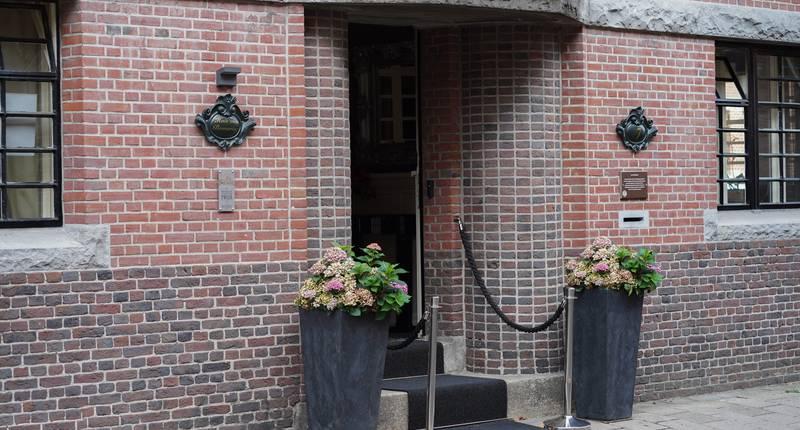 Hotel Huis van Bewaring – entree