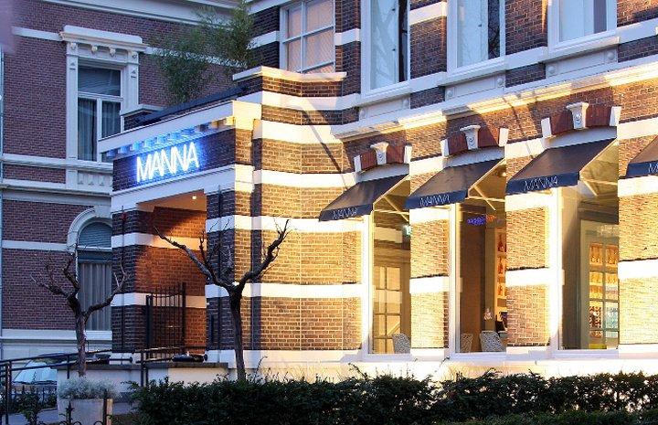 Hotel Manna Suites – buitenkant hotel