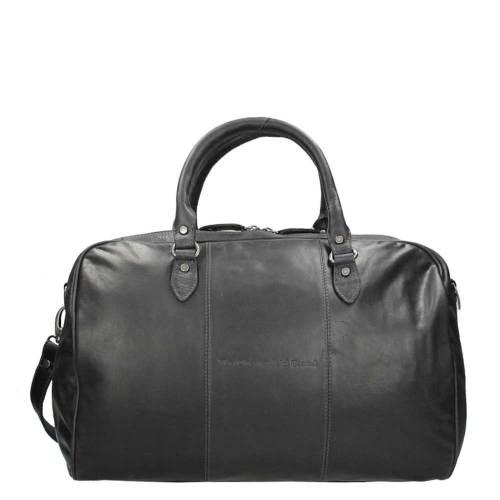 Chesterfield Liam Travelbag black – buitenkant