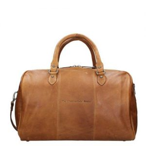 Chesterfield Liam Travelbag cognac - buitenkant