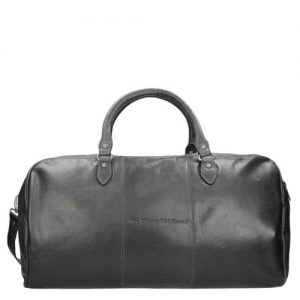 Chesterfield William Travelbag black - buitenkant