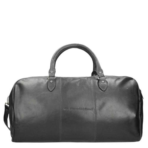Chesterfield William Travelbag black – buitenkant