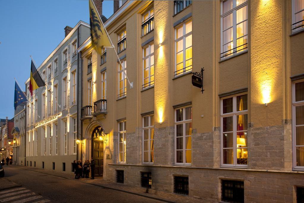 Grand Hotel Casselbergh Brugge – buitenkant hotel
