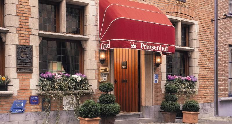 Hotel Prinsenhof Brugge – buitenkant hotel