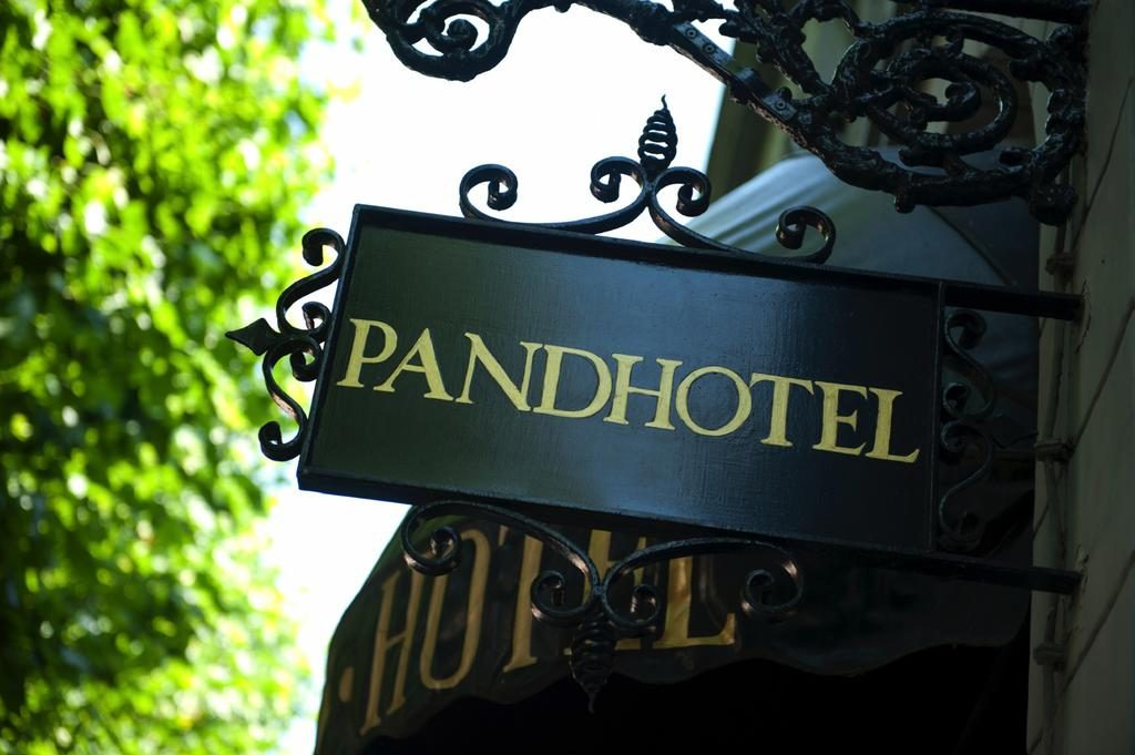 The Pand Hotel – buitenkant hotel